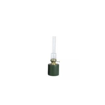 Fotogenlampa Rak grön liten
