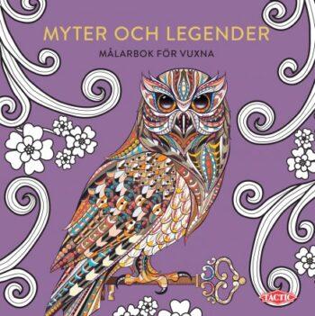 Målarbok Myter och legender