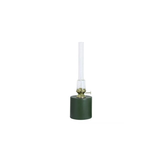 fotogenlampa rak grön stor