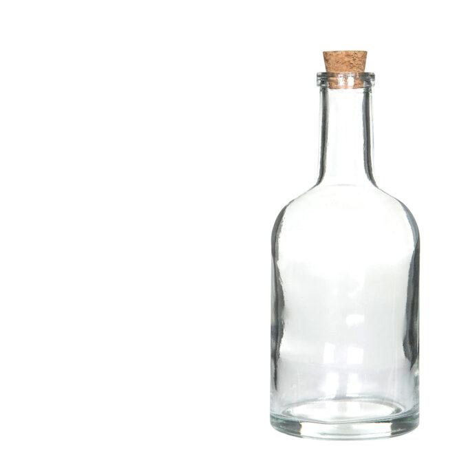Glasflaska med kork