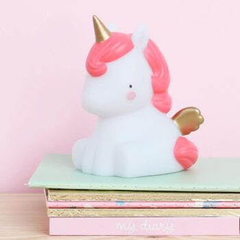 Lampa Unicorn gold edition miljö